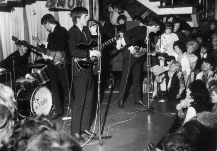 Beatles on Majestic Ballroom