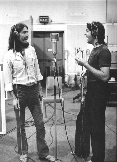 George a Paul ve studiu 5
