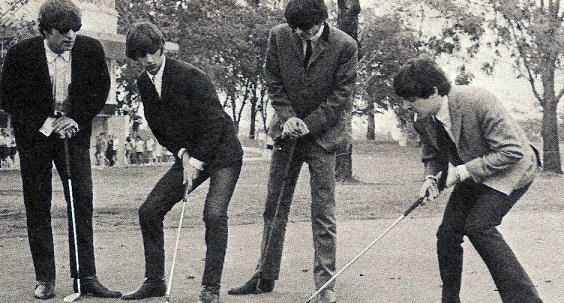 beatles golf 1